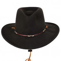 Wildwood Crushable Wool Felt Outback Hat alternate view 6