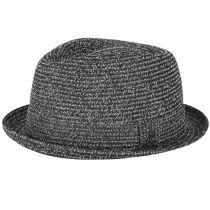 Billy Braided Toyo Straw Fedora Hat alternate view 3