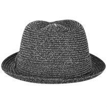 Billy Braided Toyo Straw Fedora Hat alternate view 4