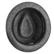 Billy Braided Toyo Straw Fedora Hat alternate view 5