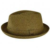 Billy Braided Toyo Straw Fedora Hat alternate view 15