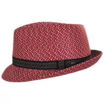 Mannes Poly Braid Fedora Hat alternate view 15