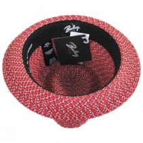 Mannes Poly Braid Fedora Hat alternate view 16