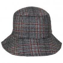 Morelia Plaid Wool Blend Bucket Hat alternate view 2