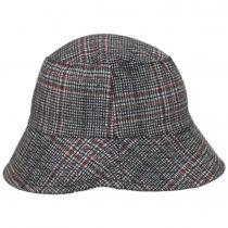Morelia Plaid Wool Blend Bucket Hat alternate view 3