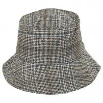 Morelia Plaid Wool Blend Bucket Hat alternate view 6
