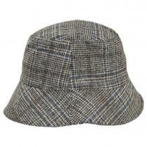 Morelia Plaid Wool Blend Bucket Hat alternate view 7