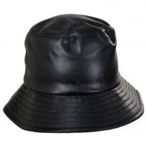 Roderick Vegan Leather Bucket Hat alternate view 2