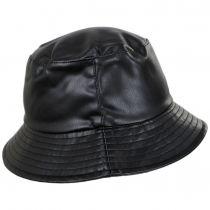 Roderick Vegan Leather Bucket Hat alternate view 3