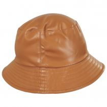 Roderick Vegan Leather Bucket Hat alternate view 7
