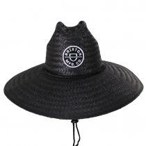 Crest Palm Leaf Straw Lifeguard Hat alternate view 2