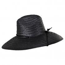 Crest Palm Leaf Straw Lifeguard Hat alternate view 3