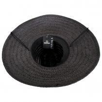Crest Palm Leaf Straw Lifeguard Hat alternate view 4