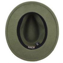 Nelles LiteFelt Wool Fedora Hat alternate view 16