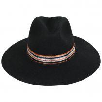 Rocco Wool Felt Fedora Hat alternate view 2