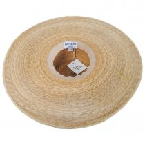 Palma Ultra Wide Palm Straw Boater Hat alternate view 4