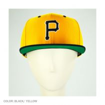 Back 2 Front Pittsburgh Pirates Snapback Baseball Cap