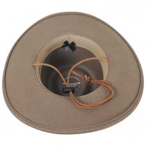 Sagebrush Crushable Wool Felt Outback Hat alternate view 12