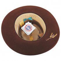 Casville Pencil Curl Brim Wool Felt Fedora Hat alternate view 8