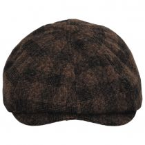 Brood Plaid Wool Blend Newsboy Cap alternate view 12