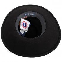 Mireille Wide Brim LiteFelt Wool Fedora Hat alternate view 12