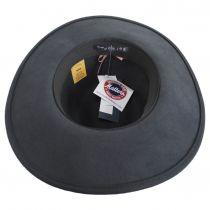 Mireille Wide Brim LiteFelt Wool Fedora Hat alternate view 16