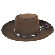 Tellus Wool Felt Gambler Hat alternate view 2