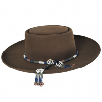 Tellus Wool Felt Gambler Hat alternate view 3