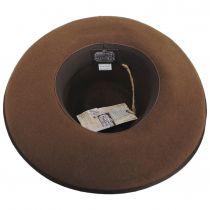 Talpa Wide Brim Wool Felt Fedora Hat alternate view 8