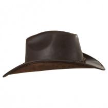 Buffalo Leather Western Hat alternate view 12