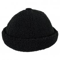 Plush Skull Cap Beanie Hat alternate view 2