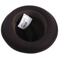 Kid's Blues Crushable Wool Felt Trilby Fedora Hat alternate view 4