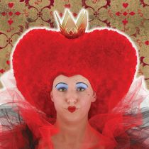 Alice in Wonderland Red Queen Hat