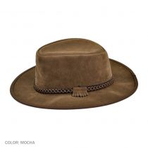 Zephyr Crushable Suede Outback Hat alternate view 14