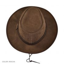 Zephyr Crushable Suede Outback Hat in