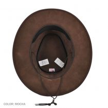 Zephyr Crushable Suede Outback Hat