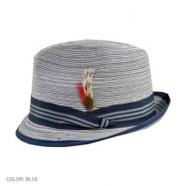 Multi Stripe Trilby Fedora Hat