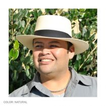 Cuenca Panama Straw Gambler Hat alternate view 28