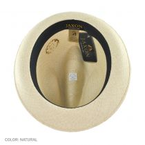 Panama Straw Trilby Fedora Hat in