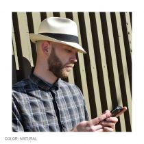 Panama Straw Trilby Fedora Hat alternate view 9