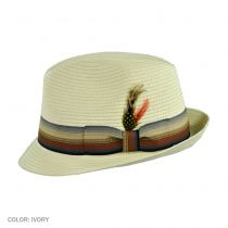 Summer Blues Trilby Fedora Hat