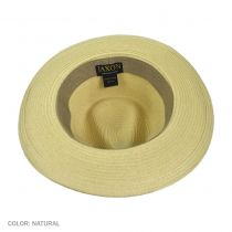 Summer C-Crown Toyo Straw Fedora Hat in