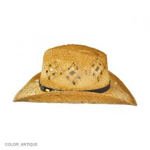 Annie Oakley Raffia Straw Western Hat alternate view 6
