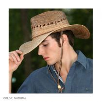 Gardener Lattice Palm Straw Wide Brim Hat alternate view 14