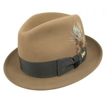 Jet Fur Felt Fedora Hat alternate view 3
