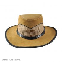 Cheyenne Suede and Mesh Western Hat alternate view 3