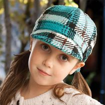 Plaid Jockey Cap - Child