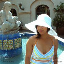 Monaco Linen Sun Hat