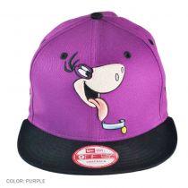 Hanna Barbera Flintstones Dino Cabesa Punch 9FIFTY Snapback Baseball Cap