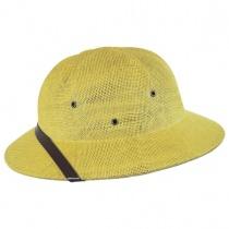 Toyo Straw Pith Helmet in